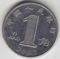 @Y@     China    1 Jiao  2007     (3929) - China
