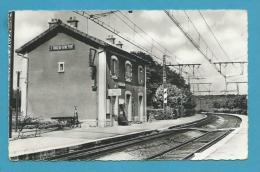 CPSM - Chemin De Fer La Gare De SAINT-FARGEAU-SEINE-PORT 77 - Saint Fargeau Ponthierry
