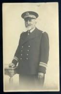 Cpa  Carte Photo Du 29 Brest Photographe George 65 Rue De Siam -- Commandant De Marine - Commandant Charcot ??   JIP67 - Voiliers