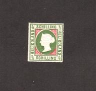 HELIGOLAND 1867 QV - 1/2 Sh , SG# 1a - MNH , OG ** CV £750 - Heligoland (1867-1890)