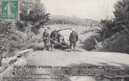 Transports -  Automobiles De Dion-Bouton - China Russia - Raid Pékin Paris - Collignon Embourbé - Cartes Postales
