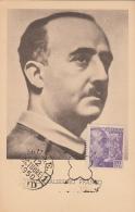Histoire - Espagne - Generalissimo Franco - Général Franco - Espana 1950 - Historia