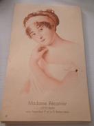 Buvard Dessin Histoire Névrovitamine 4 - Madame Récamier Sous Napoléon Restauration - Produits Pharmaceutiques