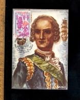 RHODE ISLAND NEWPORT : JB De Vimeur Comte De Rochambeau 1780 1980 Avec Timbre 1er Jour / First Day Cover Stamp - Newport