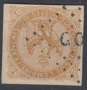 #111# COLONIES GENERALES N° 3 Oblitéré Losange Bleu GOR (Gorée) - Águila Imperial