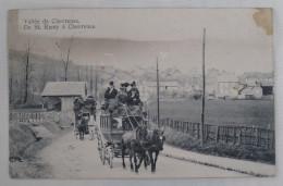 78 CHEVREUSE Vallée, De SAINT ST REMY à CHEVREUSE Diligence De DAMPIERRE à........... - Chevreuse