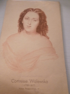 Buvard Dessin Histoire Névrovitamine 4 - Comtesse Walewska Napoléon 1er - Produits Pharmaceutiques