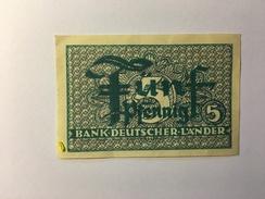 Bank Deutscher Lander 5 Pfennig - [10] Militaire Uitgaven