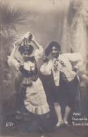 Italy The Tarantella Dancers In Traditonal Costume Hotel Coccomella Real Photo - Danze