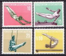 Liechtenstein MNH Gymnastics Set - Gymnastics