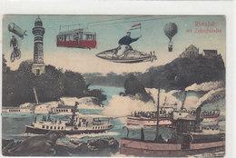Der Rheinfall In Der Zukunft -1908      (P14-20323) - SH Schaffhausen