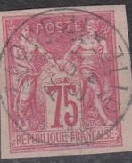 #111# COLONIES GENERALES N° 28 (nuance Groseille Sur Crème) Oblitéré Dzaoudzi (Mayotte)  RARE Et SUPERBE - Sage