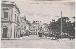 Porto Alegre ::: Estação De Bonds E Praça Senador Florencio - Porto Alegre