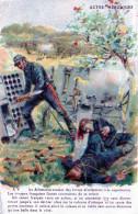 """Cpa ACTES HEROIQUES, Offerte Par Le """"petit Journal"""", Canonnier En Action Près De Blessés (52.85) - War 1914-18"""