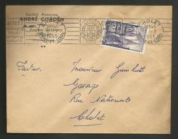 Enveloppe Entete CITROEN / CHOLET - MAINE ET LOIRE 1955 - Marcophilie (Lettres)