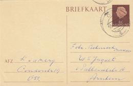Briefkaart 25 Okt 1960 Oss (typerader Openbalk) - Marcofilia