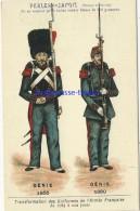 Image Ancienne-transformation Uniformes Armée Française Depuis 1789-Génie1855-1880-pub Perles Du Japon 9 - Ohne Zuordnung