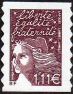 Autoadhésif(s) De France N°   48.C ** Ou 3729 C - Marianne De Luquet Le 1.11 Brun_prune - Unused Stamps