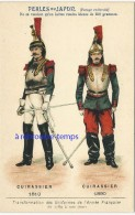 Image Ancienne-transformation Uniformes Armée Française Depuis 1789 -cuirassier 1810-1890 Pub Perles Du Japon 15 - Ohne Zuordnung