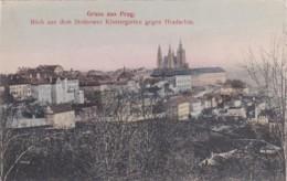 Czechoslovakia Gruss Aus Prag Blick Auf Dem Strahower KLostergar