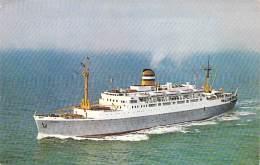 "PAQUEBOT Cruise Ship Kreuzfahrtschiff : "" S.S. MAASDAM "" ( Holland America Line ) CPSM PF - Cruiseschip Pakkeboot - Steamers"