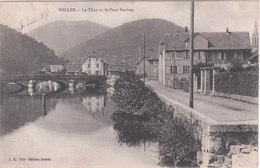 Carte Postale Ancienne Du 68 - Willer - La Thur Et Le Pont Vauban - France