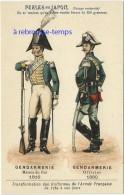Image Ancienne-transformation Uniformes Armée Française Depuis 1789 -gendarmerie 1816-1880-pub Perles Du Japon 52 - Ohne Zuordnung
