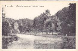Sy S/Ourthe - L'Ourthe Et Les Rochers à Sy Vers Palogne (animée, Auberge Du Cheval Blanc, 1961) - Ferrieres