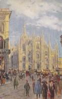 Italy Milano Piazza dei Duomo