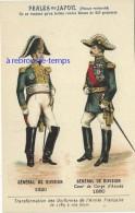 Image Ancienne-transformation Uniformes Armée Française Depuis1789 -général De Division 1820-1880-pub Perles Du Japon 57 - Ohne Zuordnung