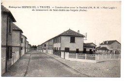 """Entreprise Despeyroux à Troyes : Construction Pour La Société D'HBM """"Mon Logis"""" Du Lotissement De St André Les Vergers - France"""