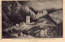 CPA - 66 - L'Abbaye St Martin Du Canigou - Autres Communes