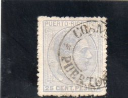 PUERTO RICO 1880 O - Puerto Rico