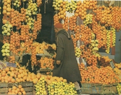 Tunesie Hammamet / Orange Citron - Commercio