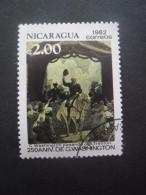 Nicaragua N°1202 GEORGE WASHINGTON Oblitéré