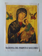 D614 - Santino Madonna Del Perpetuo Soccorso Preghiera Per Gli Ammalati - Images Religieuses