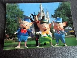 CP - Walt Disney World - The Three LittlePigs - Who's Afraid ? - Orlando