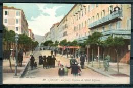 # - AJACCIO - Le Cours Napoléon Et L'Hôtel Solférino (Edition Martin Paoli)(carte Vierge) - Ajaccio