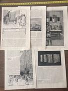 ANCIEN DOCUMENT 1908 HEUREUX PRISONNIERS DE LA BASTILLE FUNCK BRENTANO ILLUSTRATION GORGUET - Collezioni
