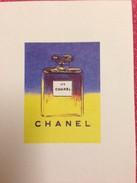 CHANEL  ANDY WARHOL - Perfume Cards