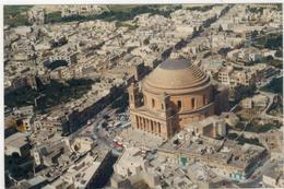 Malta - Stadtansicht  Gelaufen 1998 - Malta