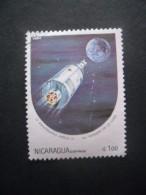 Nicaragua N°1332 APOLLO 11 Oblitéré