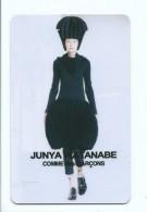 """Carte Moderne Publicitaire - Fashion  Mode """" Comme Des Garçons..."""" Junia Watanabe -  Calendrier 2016 Au Verso - Other Collections"""