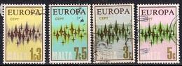 Malta 1972 - EUROPA Stamps - Stars - Malta