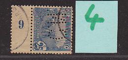TUNISIE - Perforé- Perfin - Perforés- Perfins -  C N  - - Tunisie (1888-1955)
