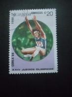 Nicaragua N°1496 JEUX OLYMPIQUES De SEOUL 1988 Oblitéré