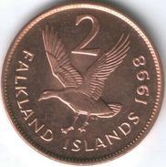 Falkland Islands 2 Pence 1998 UNC Coin - Falkland Islands