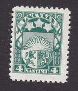 Latvia, Scott #139, Mint Hinged, Arms And Stars, Issued 1927 - Latvia