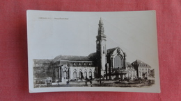 Luxembourg >   RPPC  Train Station Stamp Peeled Off Ref 2399 - Andere