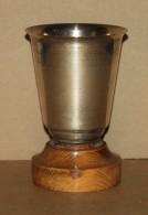 Coupe Trophée Ancien En Métal Argenté - Poinçons D'orfèvre - Autres
